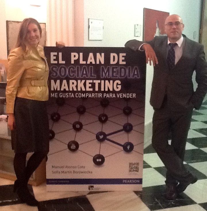 Manuel Alonso y Sofía Martín, autores de El Plan de Social Media Marketing